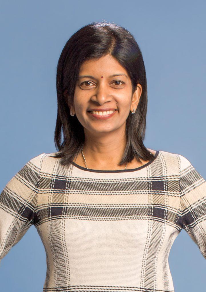 Headshot/photo of Dr. Mega Subramaniam of the University of Maryland iSchool.